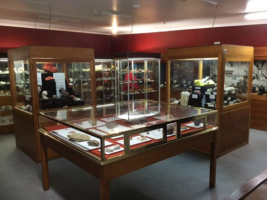 Zeehan, Australia: Amazing world class mineral displays.
