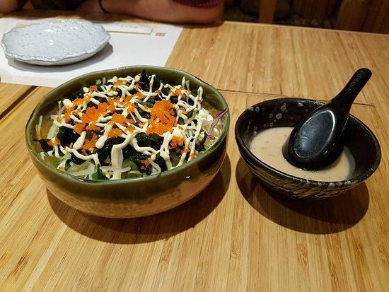 Kimono Japanese Restaurant : the only disappointment - mayo really??