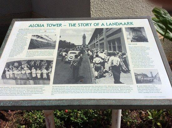 Aloha Tower Marketplace: 往時のアロハタワーの賑わい