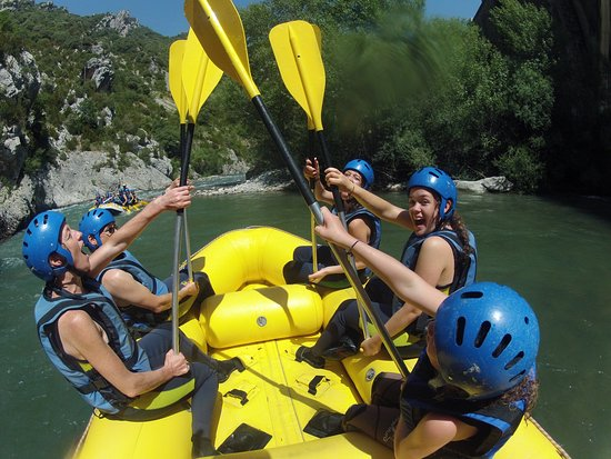 Ainsa, Spain: RAFTING