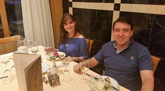 Dinner at divani meteora hotel restaurant. - Picture of Divani ...
