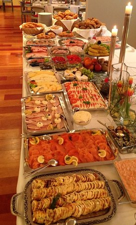 Ennigerloh, Tyskland: Großes Frühstücksbuffet für Feiern ....