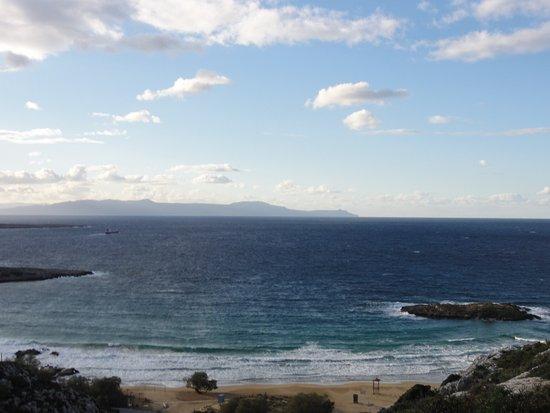 Καλαθάς, Ελλάδα: La plage de Kalathas (hors-saison)