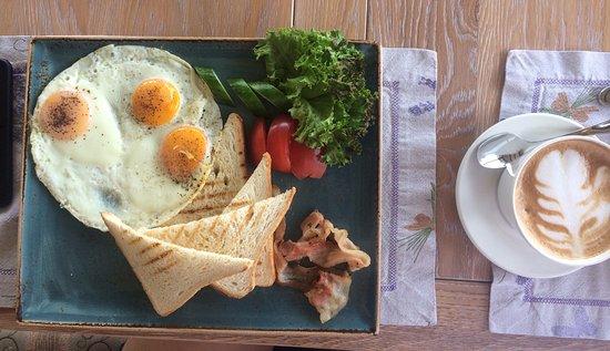 европейский завтрак с фото