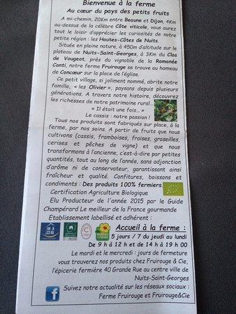 Ferme Fruirouge : Accueil et histoire