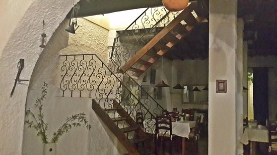 Rio Arade Manor House: beautiful iron stairs