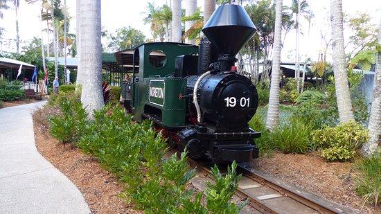 Yandina, أستراليا: The Moreton Train at the Ginger Factory