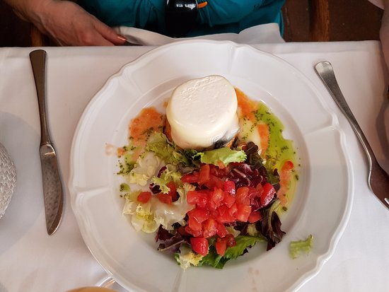 Cafe De L'Academia: berenjenas con queso de cabra
