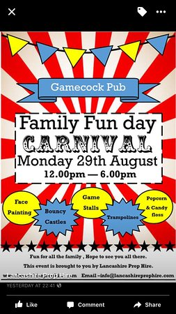 Great Harwood, UK: Bank holiday Family fun day