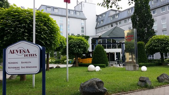 Arvena Kongress Hotel: Panoramica Hotel