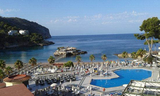 Camp De Mar, Spania: Pool from the 3rd floor
