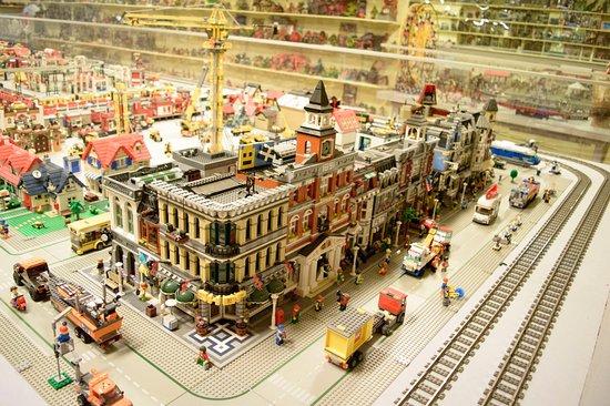 Eslöv, Szwecja: Legostad och Lego-tåg