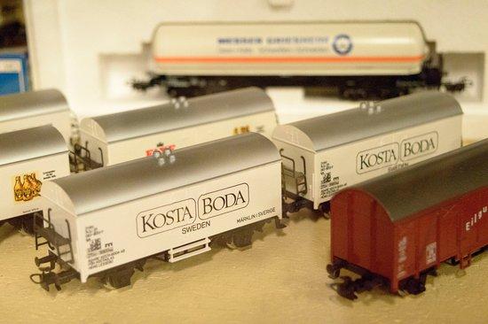 Eslöv, Suecia: Kosta Boda vagn från Märklin