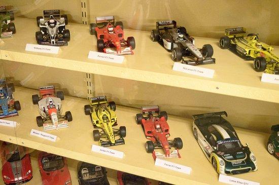 Eslöv, Suecia: F1 bilar