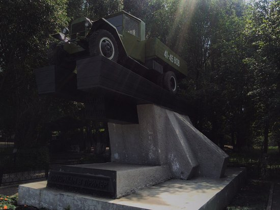 Monument to the Drivers and Machines