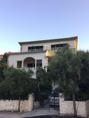 Marina, Kroatia: Das Haus