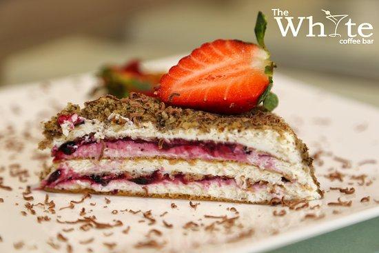 The White Coffee Bar: Cake