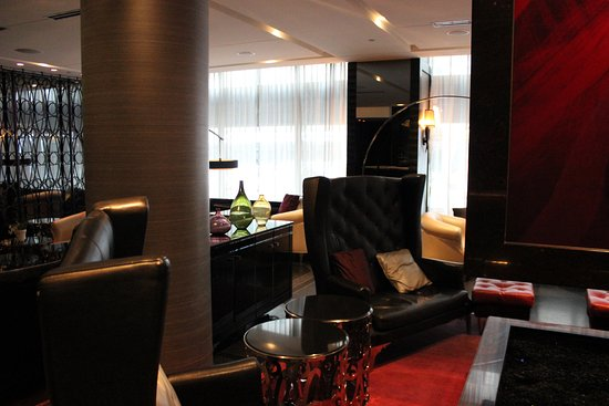 Various seating arrangements of the Living Room at the W ...