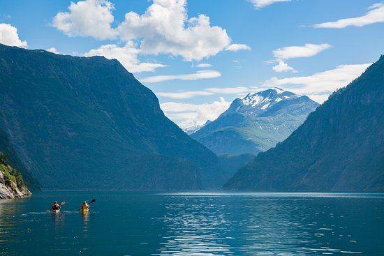 Valldal, Norge: Tafjord, part of UNESCO world heritage.