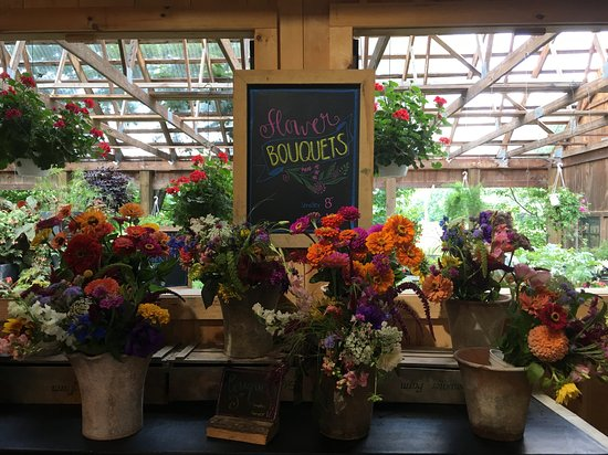 Plainfield, Nueva Hampshire: Fresh flowers