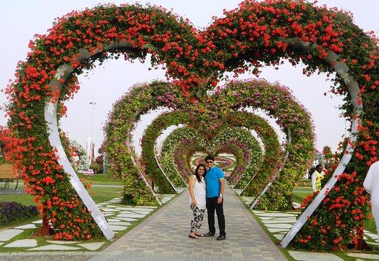 Flower heart picture of dubai miracle garden dubai tripadvisor