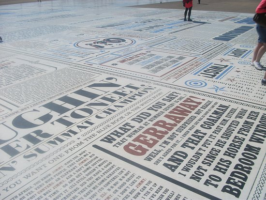 Picture of the Comedy Carpet