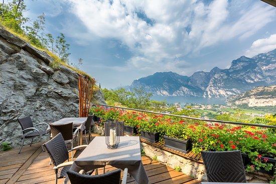 Forte Charme Hotel: terrazza ristorante