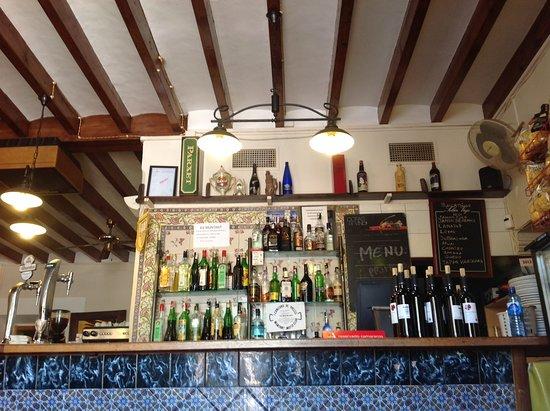 Restaurante es muntant en palma de mallorca con cocina - Cocinas palma de mallorca ...