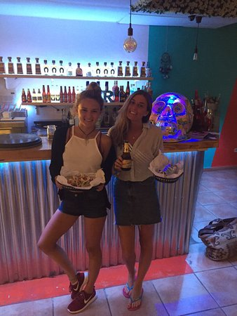 chicas guapas! - Picture of Can Burrito, Playa d\'en Bossa - TripAdvisor