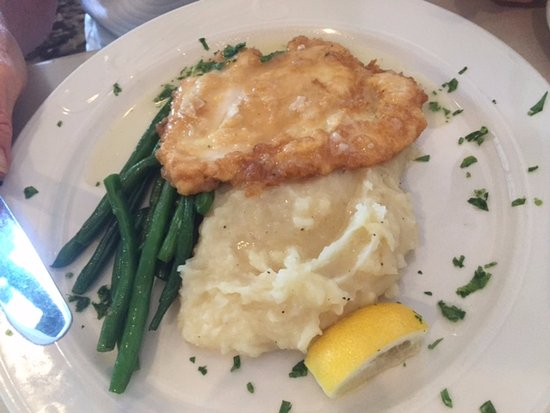 The Fat Lady Cafe: chicken breast