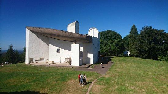 Ronchamp, France: Chapelle Notre-Dame du Haut