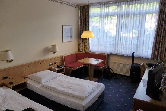 Mercure Hotel Garmisch-Partenkirchen: Pokój dwuosobowy