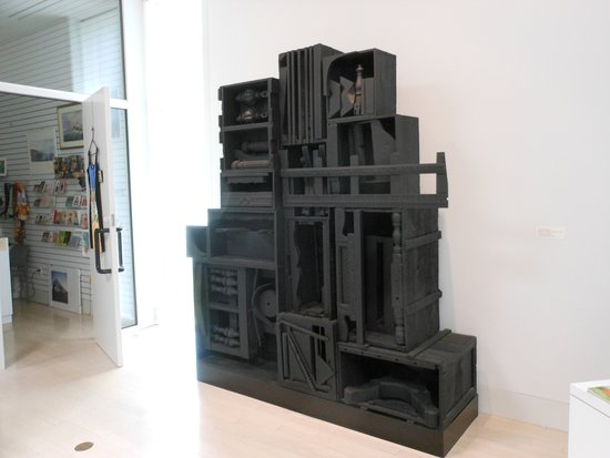 Warren, OH: sculpture by Louise Nevelson