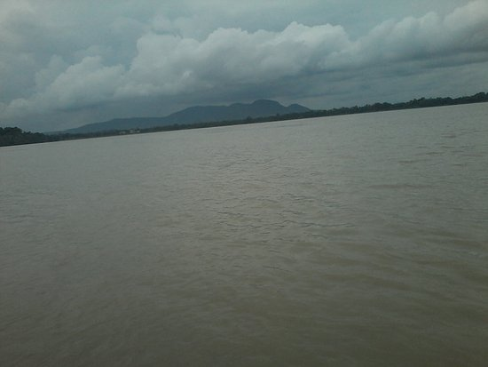View of the Mighty Brahmaputra River from Saraighat Bridge