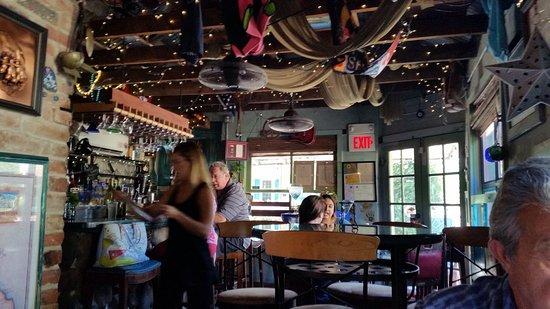 Gina's : Decor making this small restaurant fun!