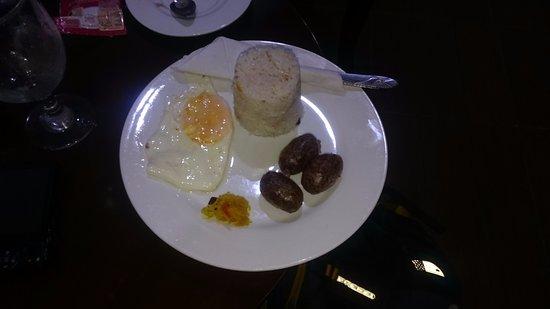 Las Palmas de San Jose: Longanisa Breakfast