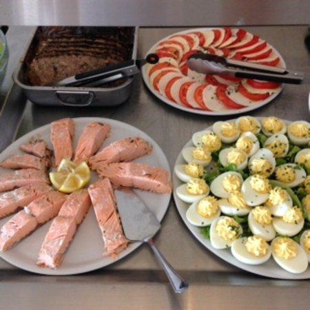 La Jemaye, France: un buffet varié