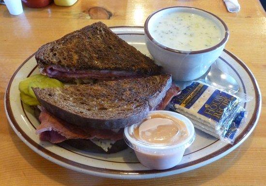Big Timber, MT: Reuben w/Soup...