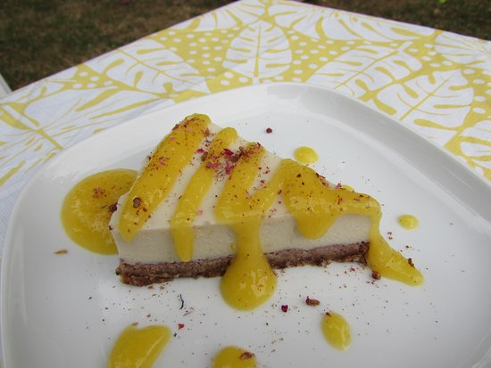 Charente-Maritime, Francia: Cheesecake cru végétalien
