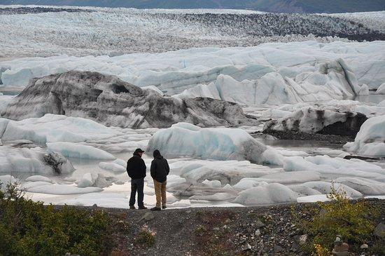 Knik Glacier Day Tour: massive glacier