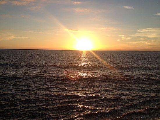 Lakeside Holiday Park: Burnham-on-Sea sunset