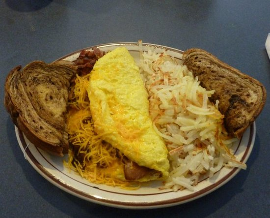 Superior, MT: Bacon & Egg Omelet...