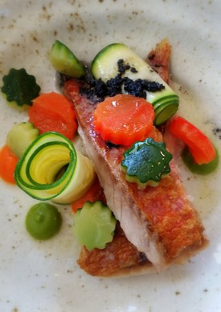Newport-on-Tay, UK: Red mullet