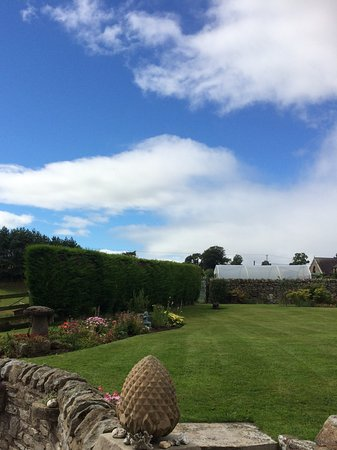 Romaldkirk, UK: Owners garden