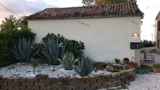 Mondaino, Italien: Steingarten