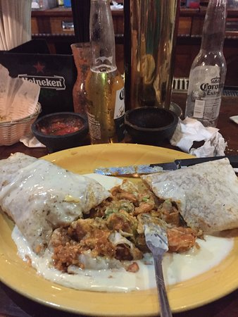 Ottumwa, IA: Shrimp burrito was good