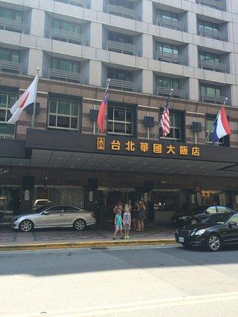Imperial Hotel Taipei: Entrébild till hotellet