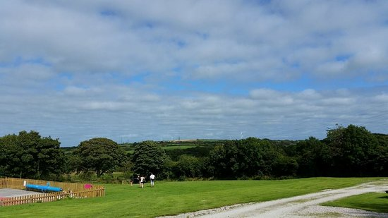 ‪‪Otterham‬, UK: View from Valley 2 Cottage‬