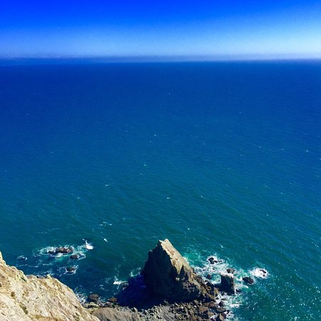 View from the top of the Muir Beach Overlook