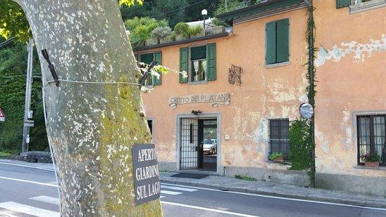 Brienno, Италия: Crotto dei Platani